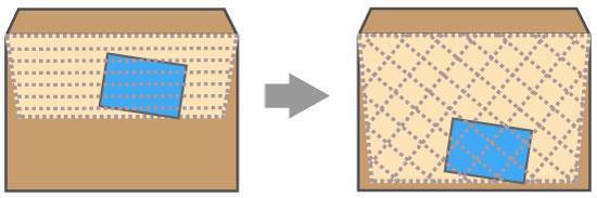 紙ネット封筒の構造