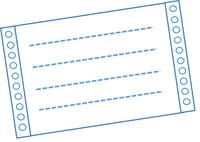 このようなものが複写帳票です
